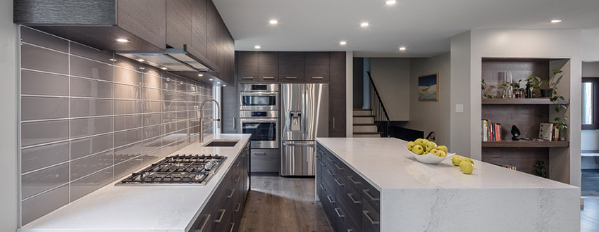 Custom Kitchen (241 sq. ft. or more) – Contemporary $75,001 and over